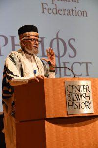 Professor Ephraim Isaac (Photo courtesy of Chrystie Sherman)